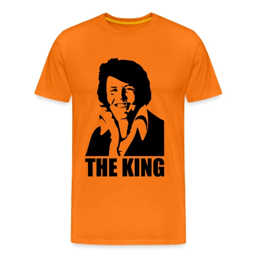THE KING - Mannen Premium T-shirt