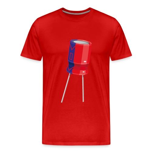 Big Capacitor T-Shirt - Men's Premium T-Shirt