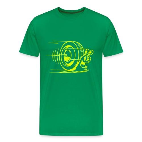 Escargot 2cv t-shirt Homme - T-shirt Premium Homme