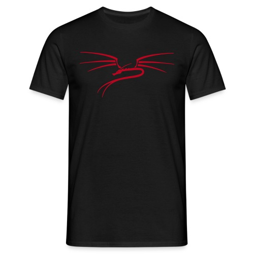 Basic Männer T-Shirt, Dragon - Männer T-Shirt