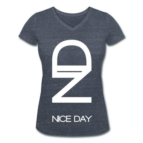 ND col V femme - T-shirt bio col V Stanley & Stella Femme