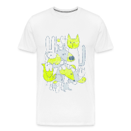 T-Shirts ~ Men's Premium T-Shirt ~ Men's Abstract T
