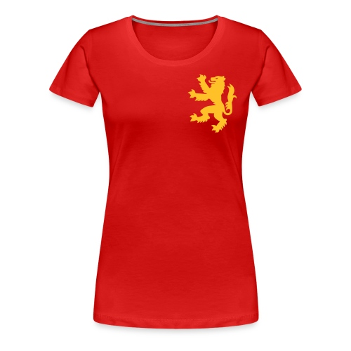 Damen T-Shirt Golden Coat - Frauen Premium T-Shirt