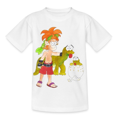 Dinokid - Kinder T-Shirt