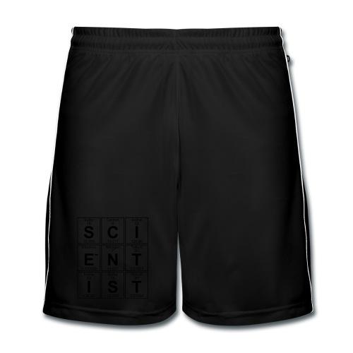 S-C-I-E-N-T-I-S-T (scientist) - Men's Football shorts