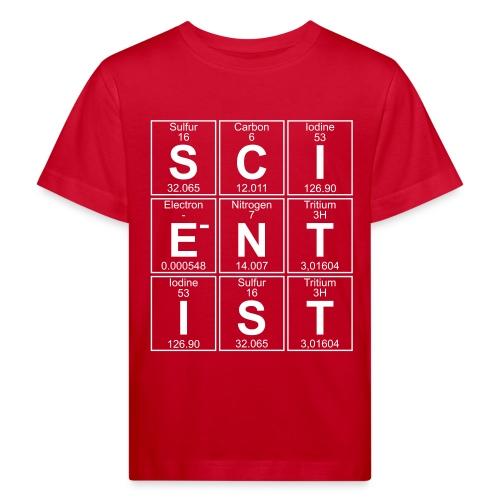 S-C-I-E-N-T-I-S-T (scientist) - Kids' Organic T-Shirt