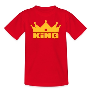King Junior garçon or/rouge - T-shirt Enfant
