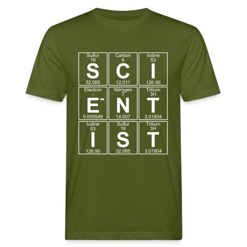 S-C-I-E-N-T-I-S-T (scientist) - Men's Organic T-Shirt