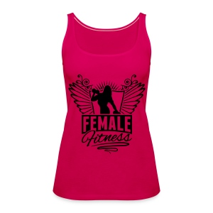 Female fitness  Sports Tank Top By Fitness Pro Master  - Women's Premium Tank Top