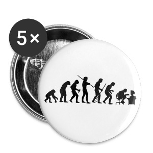 Evolution - Badge grand 56 mm