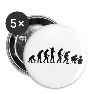 Evolution badge - Badge grand 56 mm