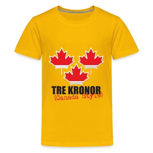 Yellow Teen T-Shirt - Teenage Premium T-Shirt