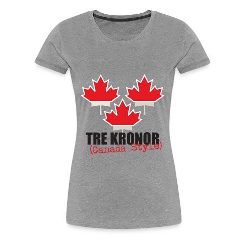 Grey Women's T-shirt - Women's Premium T-Shirt
