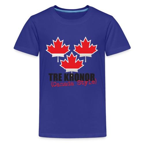Blue Teen T-Shirt - Teenage Premium T-Shirt