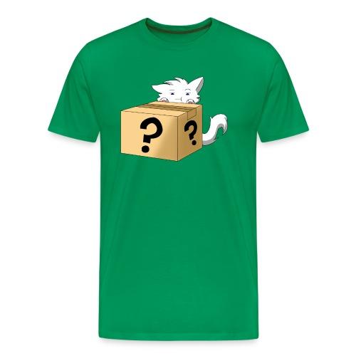 Curious Catbox - Men's Premium T-Shirt