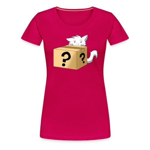 Curious Catbox - Women's Premium T-Shirt