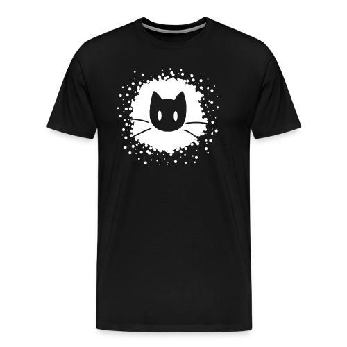 Abstract Cat Logo - Men's Premium T-Shirt