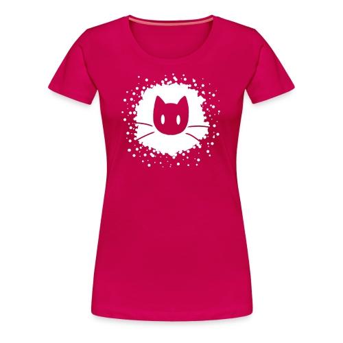 Abstract Cat Logo - Women's Premium T-Shirt