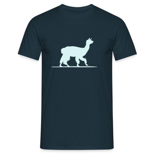 reflektierendes Lama - Männer T-Shirt