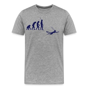 Evolution Diving T-Shirts - Men's Premium T-Shirt