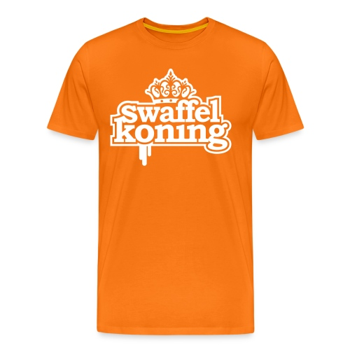 Swaffel Koning Koningsdag 2014 - Mannen Premium T-shirt