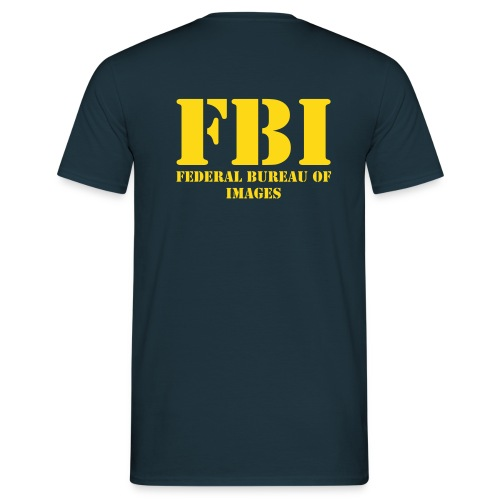 FBI - Federal Bureau of Images - Maglietta da uomo