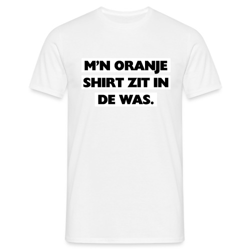In de was mannen t-shirt - Mannen T-shirt
