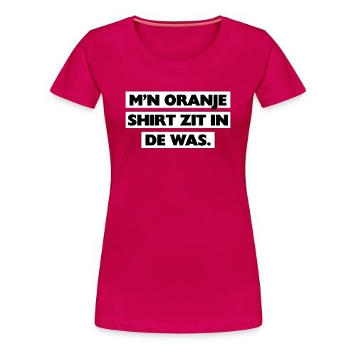 In de was vrouwen premium - Vrouwen Premium T-shirt