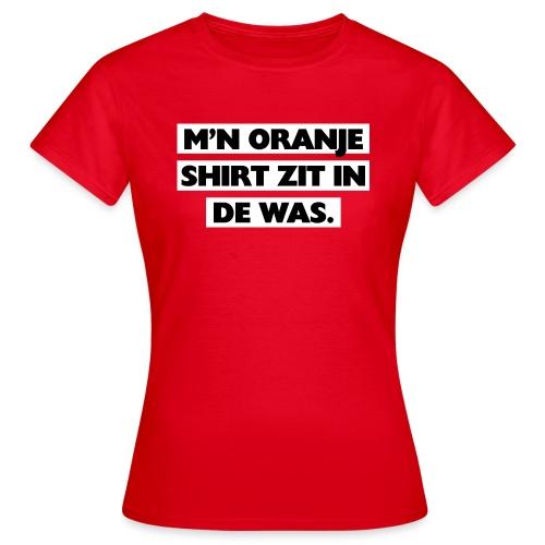 In de was vrouwen t-shirt - Vrouwen T-shirt
