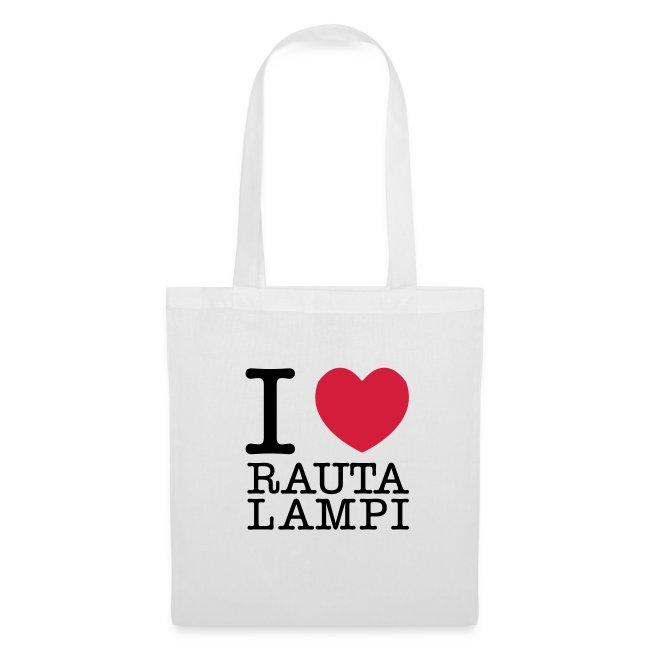 I love Rautalampi-kangaskassi
