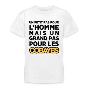 Un petit pas Cobayes -  Ado - T-shirt Ado