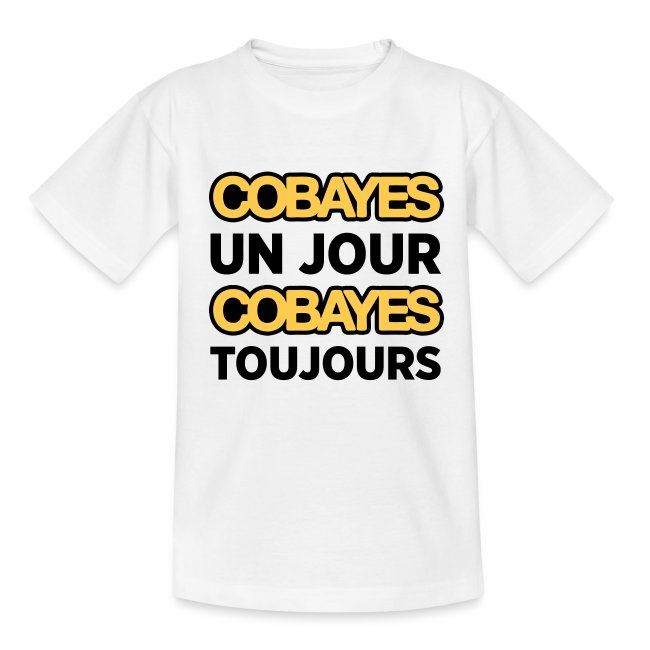 Cobayes Toujours -  Enfant