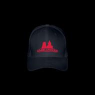 Caps & Mützen ~ Flexfit Baseballkappe ~ Amelunxen Cap Blau-Rot