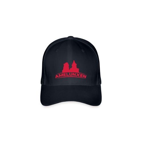 Amelunxen Cap Blau-Rot - Flexfit Baseballkappe