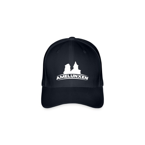 Amelunxen Cap Schwarz-Weiss - Flexfit Baseballkappe