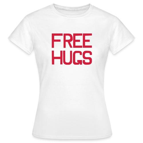 Free hugs - T-shirt Femme