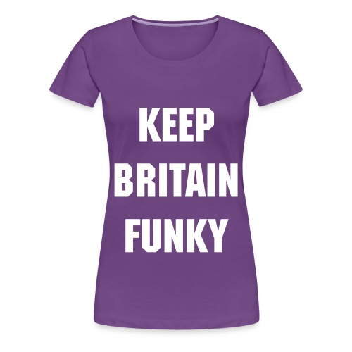 Funky Ladies Tee - Women's Premium T-Shirt
