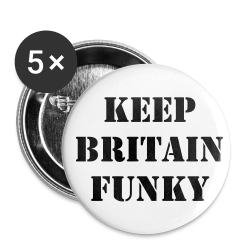 Funky Badge 5pk - Buttons medium 32 mm