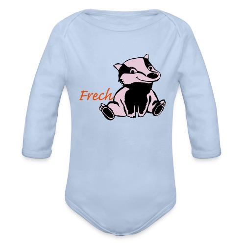 Frecher Dachs Frechdachs - Baby Bio-Langarm-Body
