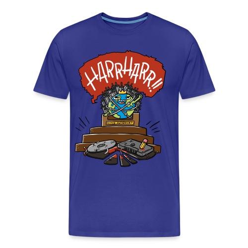 Internet vs Tonträger (Mann) - Männer Premium T-Shirt