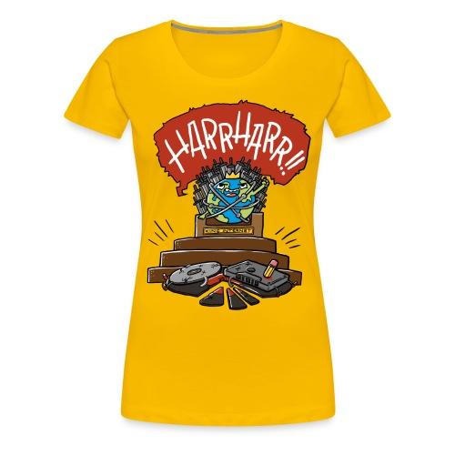 Internet vs Tonträger (Frau) - Frauen Premium T-Shirt