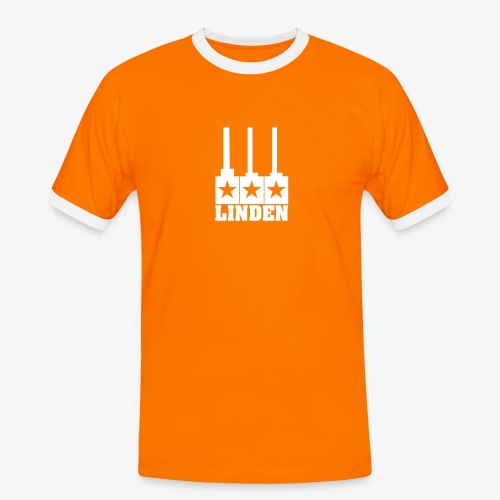 Lindenshirt für echte Männer - Männer Kontrast-T-Shirt