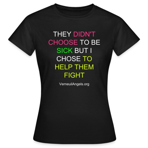 T-Shirt Femme They didn't choose - T-shirt Femme