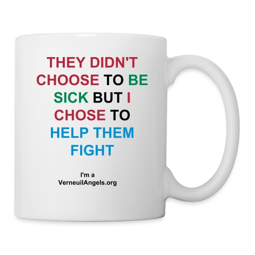Tasse They didn't choose - Mug blanc