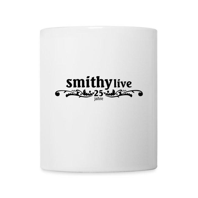SMITHY 25 Jahre - Tasse weiss