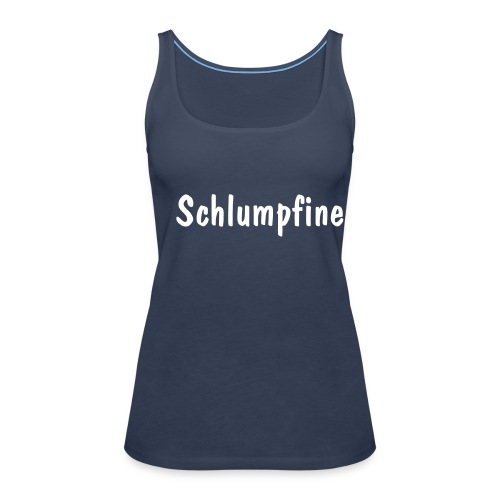 Schlumpfine - Frauen Premium Tank Top