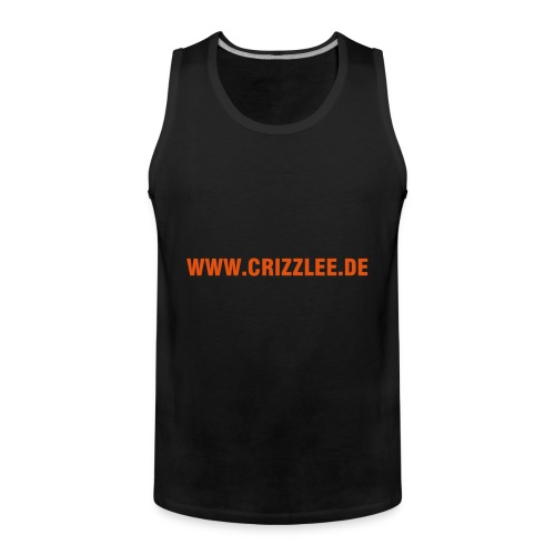 Ärmelloses Shirt Crizz Lee - Männer Premium Tank Top