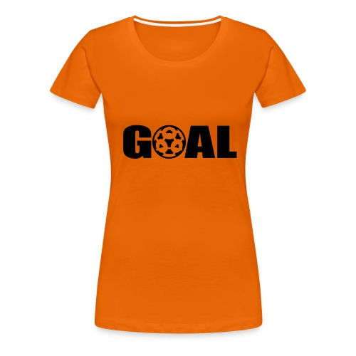 GOAL dames T shirt wk 2006 - Vrouwen Premium T-shirt