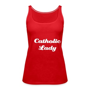 Catholic Lady - Frauen Premium Tank Top