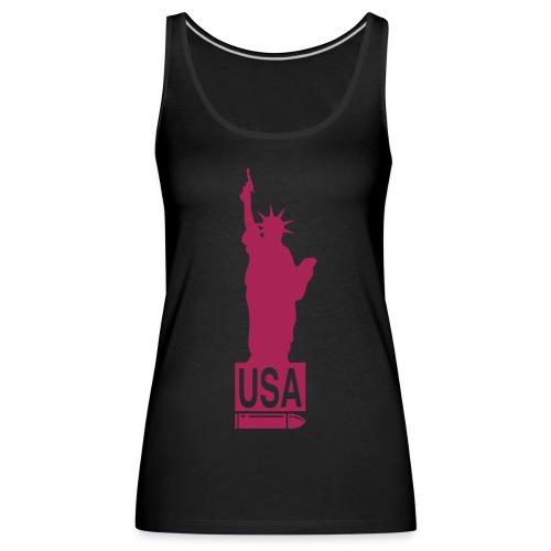 U.S.A. - Camiseta de tirantes premium mujer